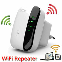 Wholesale 2016 Brand New Mbps Wifi Repeater Wireless N AP Range Signal Extender Booster wifi booster cell phone signal booster