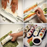 beginner camping - Hot Sushezi Sushi Bazooka Camp Chef Sushezi Roller Kit Sushi Rolls Made Easy Making Kit Suitable For Beginners Kids DIY Mold Cooking Tools
