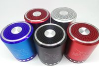 aluminum speaker usb - T A Alloy wireless bluetooth speaker that can insert U disk TF card and FM function good fashion type in retail box
