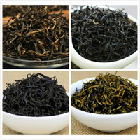 al por mayor té de china yunnan-4 Tipos Té negro chino orgánico - Lapsang Souchong, Jin Jun Mei, Yunnan Dian Hong, Yinghong, 100g * 4 Té negro de China