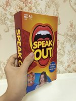 best toy list - 2016 The new listed Speak Out Game KTV party game cards for party Christmas gift newest best selling toy