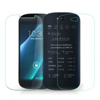 No anti finger print - For YotaPhone2 Ultra Thin Tempered Glass Screen Protector Front Clear Back Film for Yotaphone Anti Explosion Finger Print