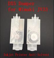 Wholesale 100 Solvent base ink filter Mimaki JV5 CJV30 JV33 Mutoh Galaxy Printer print head dx5 damper