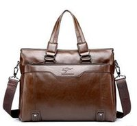 Wholesale Kangaroo Men s Bags Handbag Leather bag Cross section Large capacity business documents bag Only for Men
