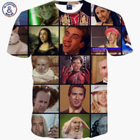 animal rage - Fashion Men Women D T shirt print Nicolas Cage Rage Animal One Piece stars Causal t shirt short sleeve Funny Cool Tops Tees