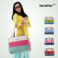 Wholesale Canvas Fashion Baby Diaper Bags Waterproof Nappy Bags Mommy Bags