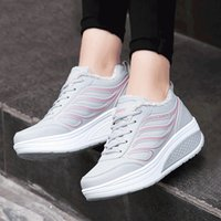 asian height - Hot Sale Women Platform Shoes Thicken Warm Lace Up Flats All Match Travel Casual Shoes Asian Size TY0328