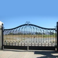 Wholesale Iron Door Garden Buildings Patio Lawn Garden Home Arches Arbours Patio fence Trellis Gates Garden Buildings no3