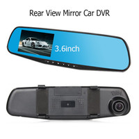automatic car driver - 138W Single Lens Car DVR Automatic Loop Recording Rear View Mirror HD P Car Detector Best Gift to Driver