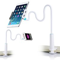 For cellphone & tablet arm tables - Rock degree Flexible Arm Holder Stand for Cellphone table pad cm Long Lazy People Bed Desktop tablet Mount