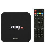 Wholesale Docooler R39 Smart Android TV Box RK3229 Quad Core KODI XBMC UHD K G G PC WiFi H DLNA AirPlay Miracast HD Media Player V2300