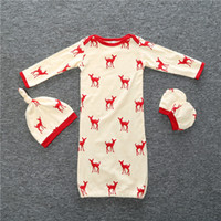 baby boy s clothes - Baby Clothing Baby Romper Set Cute Deerlet Cotton Boys Girls Infant Pajamas Sleepwear Sleepsuit Jumpsuit Baby Sleeping Bag