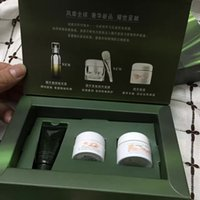 Wholesale 3pcs Set Famous Brand the concentrate repairing deep moisturizing whiteing anti agiang day and night repairing oil control