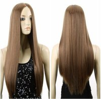 El pelo recto del pelo recto del pelo largo del pelo de las mujeres de la manera de la fuente de la fuente de la alta calidad que endereza los cosméticos