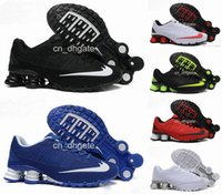 Wholesale 2016 New Shox TURBO Men Running Shoes Cheap Fashion Sneakers Shox Current High Quality Sport Shoes Size