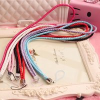 Wholesale High quality fashion jewelry with a mobile phone camera universal mobile phone lanyard rope length about cm fold