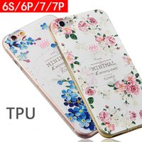 Wholesale For Iphone s plus Iphone7 Plus Frosted Protection Shell Scratch Resistant TPU Relief Soft Phone Case G018