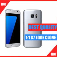 Wholesale Android goophone s7 edge g lte octa core inch Curved Screen G RAM G ROM add GB tf Card MP VS goophone s6 edge
