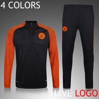 track suit - 4 COLORS Men Adults Track suits Full Zipper Soccer Manchester Tracksuit Football survetement City chandal Equitment Maillot