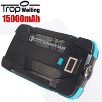 Wholesale Tropweiling Quick Charge Power Bank mAh USB PowerBank Portable External Battery Pack for iPhone LG Samsung S6 Edge