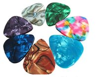 Wholesale Guitar pick Brand New Thin Guitar Picks Parts Accessories Celluloid mm Stringed Instruments