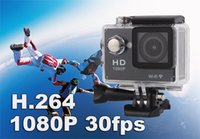 Wholesale W9 inch Screen Wifi Version Action Camera M Waterproof P FHD Extreme Sports Mini DV Diving Video Camera