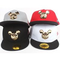 Wholesale 2016 Korean tidal baseball cap spring and summer children s baby flat brimmed hat hip hop hat cap boys and girls snapback