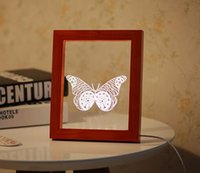 Wholesale Cut A Small London Desk Lamp Photo Frame Small Night Light Novelty Items D Night Light Home Decorations