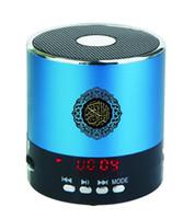 al por mayor corán pequeña-Al por mayor-barato precio 8gb altavoz quran pequeño con control remoto Quran mp3 mp3 más de 30 recitadores y opciones de traducciones