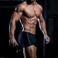 Venta al por mayor- Gimnasios Shorts Mens Bodybuilding Marca Ropa Shorts Poliéster Spandex Bermudas Masculina de marca Body Engineers GASP Gymshark