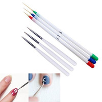 best paint brushes - Best Price brand new and high quality Nail Art Design Set Dotting Painting Drawing Brush Pen Tools Anne