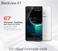 Wholesale Blackview E7 GB GB Quad Core G MTK6580A Fingerprint Scanner inch IPS HD Android GPS Smartphone