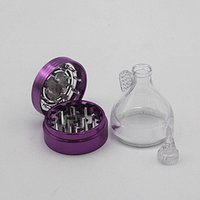aviation parts - 2016 TOP Quality Aviation Aluminum MM Parts Funnel Tobacco Crusher Metal Grinder