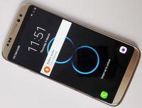 Precio de Teléfono celular 3g wcdma-DHL goofón S8 Edge 5.5inch Android 6.0 cuerpo de metal Quad Core 1 GB de RAM 8GB ROM MTK6580 3G Teléfonos Móviles Mostrar 4gb RAM 64gb ROM octa núcleo 4G LTE