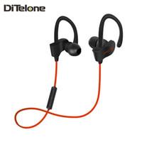 Wholesale Freesolo S Bluetooth Earphones Wireless Sports Earbuds Stereo In ear Headsets MIC Ear Hook Noise Cancelling For Iphone Xiaomi