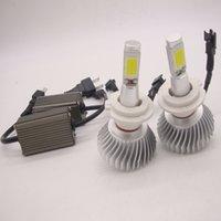 achat en gros de conversion de h11-2pcs 80W 12V CREE Led faisceau de remplacement kit de conversion LED DRL phare de brouillard kit de conversion ampoule H1 H4 H7 H8 H11 9006