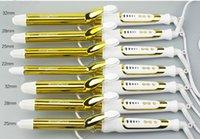Wholesale Nano Titanium Tourmaline Ceramic Hair Curler LCD Curling Iron Fashion Styling Tools MM hair curling wand