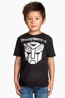Wholesale 2016 Hot Sale Boys Transformer T shirt Children s Kids T shirts Baby Clothing Little boy Summer Tops Tees
