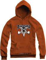 Wholesale cm kids hoodies street wear skateboard Five Star printed thrasher hoodie clothing for children Color