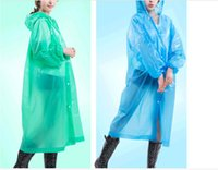 Wholesale 2PCS adult thickening increased total package side not disposable raincoats