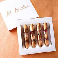 Wholesale chirstmas Kylie Jenner KOKO Kollection lipstick Set Koko Kylie Cosmetics kollaboration Gold Metal Matte lipstick KHLOE Limited Edition