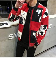 Wholesale kanye west New Men s Jacket Fall Collar Men s Jacket High quality fine workmanship welcome customization Thank you