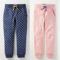 Wholesale brand girls pants baby leggings winter clothing trousers kids sports sweatpants vk high quality oem factory sales christmas