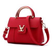 Wholesale 2017 Fashion new Women Leather Handbags Litchi cat ladies messenger bag crossbody bag Brand designer tote bag bolsos mujer de