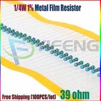Wholesale NEW ohm W R Metal Film Resistor ohm W ROHS