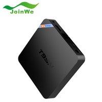 Wholesale WeChip T95N Smart TV Box Android G G Amlogic S905X Quad Core Wifi Kodi16 Set Top Box Mini M8Spro