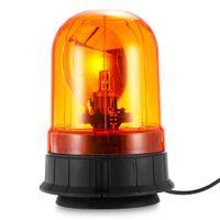 acura alarm - TIROL V Rotate Warning Light Vehicle Alert HID Lamp Magnetic Mount Emergency Alarm Cigarette Lighter Style