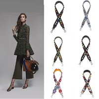 Wholesale Fashion Handbag Strap Replacement PU Leather Replacement strap Hand Bag Colorful Shoulder Strap multi designs A0617