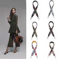 Wholesale Fashion Handbag Strap Replacement PU Leather Replacement strap Hand Bag Colorful Shoulder Strap multi designs A0617