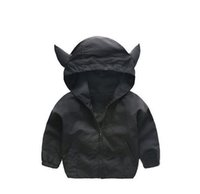 Wholesale 2017 spring autumn new baby kids cartoon shark hooded jacket cool fashion out of the ordinary coat